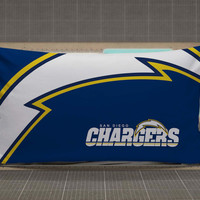 San Diego Charger rectangle pillow case, pillow cover, cute and awesome rectangle pillow covers