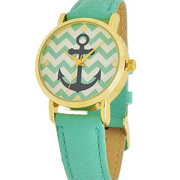 Anchor Chevron Watch