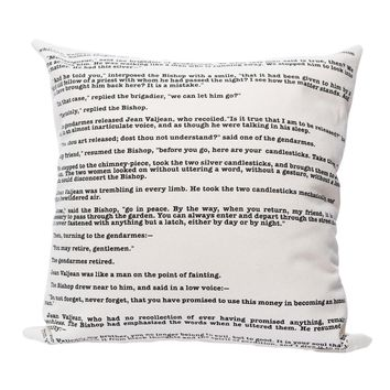 Les Miserables Pillow Cover