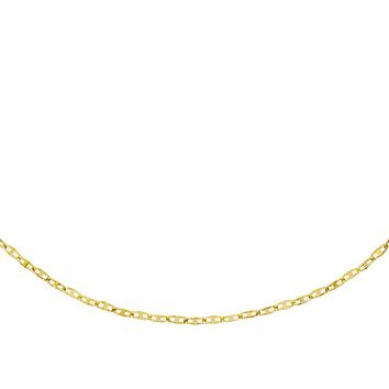 Twisted Mariner Chain Necklace 14K