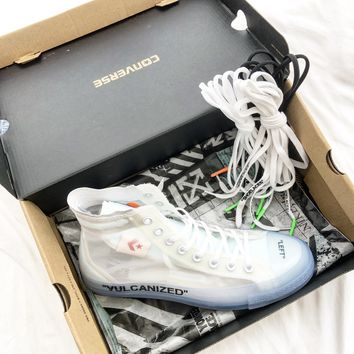 Off White X Converse Chuck Taylor 1970s Ow Sneakers #2628