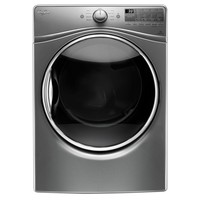 Whirlpool 7.4 cu. ft. Electric Dryer with Steam in Chrome Shadow, ENERGY STAR-WED92HEFC - The Home Depot
