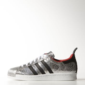 adidas Topshop Superstar 80s Shoes - White | adidas US