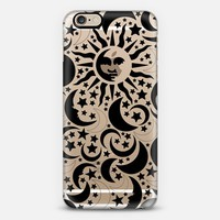Stars Sun Moon Black Pattern Boho Bohemian Hippy New Age iPhone 6s case by Coral Antler Creative | Casetify