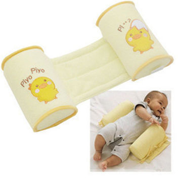 Baby Shaping Pillow Orthopedic Flat Toe Cap Anti-roll Pillows Yellow Chick born  SM6