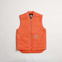 CNCPTS / Carhartt WIP Vest (Orange Rigid)