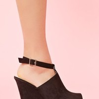Willa Platform Wedge in  Shoes at Nasty Gal