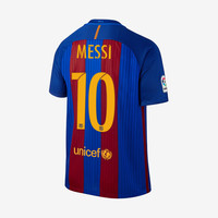 Barcelona 2016-17 Messi Home Jersey w/ Sponsor