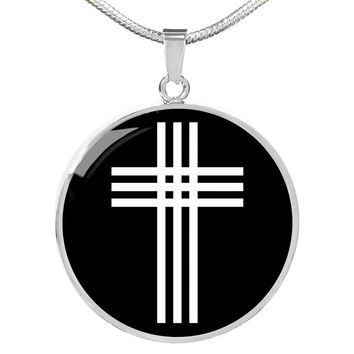 Stylized Cross v2 - Luxury Necklace