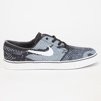 Nike Sb Zoom Stefan Janoski Canvas Premium Mens Shoes Grey  In Sizes