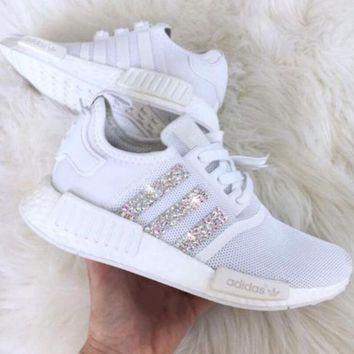 Adidas NMD Fashion Glittering Breathable Running Sports Shoes Sneakers I 17bad626cdcc