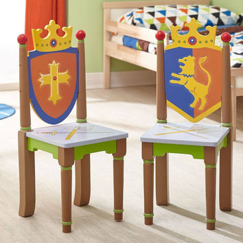 Fantasy Fields - Knights & Dragons Set of 2 Chairs