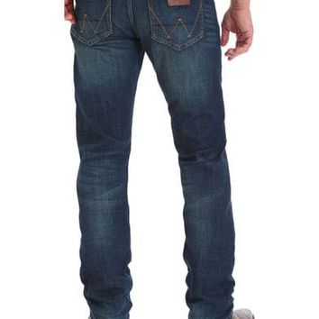 Wrangler Retro Men's Green River Slim Fit Jeans - Straight Leg