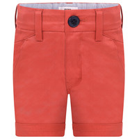 Hugo Boss Boys Red Bermuda Shorts