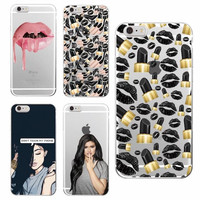 Kylie Jenner Soft Phone Cases For iPhone 7 7Plus 6 6S 6Plus SAMSUNG Galaxy