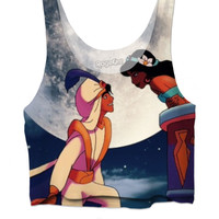 Jasmine and Aladdin Crop Top