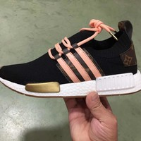 Adidas x Louis Vuitton NMD Fashion Women/Men Casual Running Sport Shoes