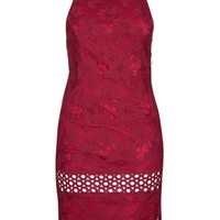 Lace Strappy Back Midi Dress - Topshop