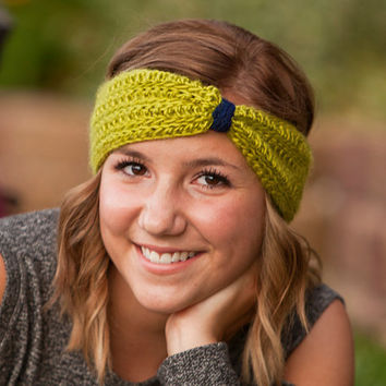 Seattle Seahawks Crochet Earwarmer