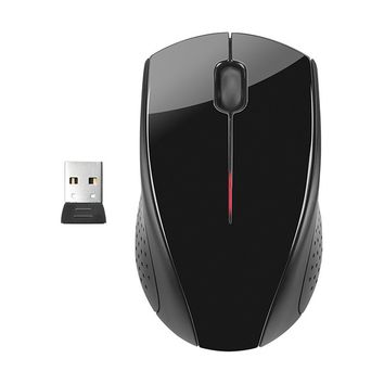 HP - x3000 Wireless Optical Mouse - Black