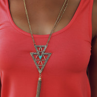 Wandering Arrow Necklace