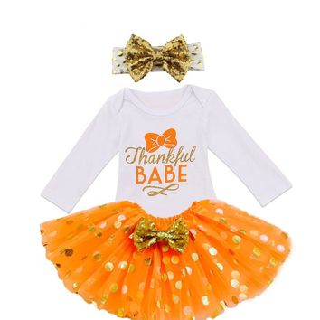 Thanksgiving Tutu Outfit