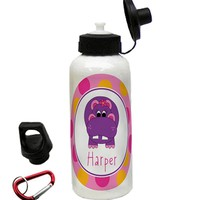 Personalized Hippo Water Bottle