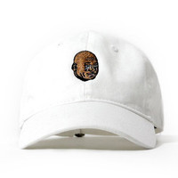 "Entree LS Crying Meme ""Dad Hat"" Ball Cap In White - Low Stock"