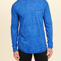 Guys Must-Have Long-Sleeve Crewneck T-Shirt | Guys Clearance | HollisterCo.com