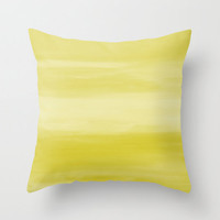 Abstract Yellow throw Pillow Cover Ombre Modern Home Decor Living room bedroom accessories Cushion