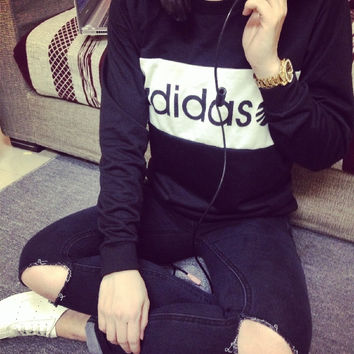 """Adidas"" Long Sleeve Tee"