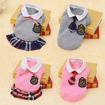 New Dog Clothes for Small Dog Clothes Warm Puppy Coats Jacket Cat Pet Costumes Chihuahua Clothes Spring Shirts Dog Clothes 39S1