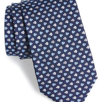 Men's Salvatore Ferragamo Ladybug Print Silk Tie, Size Regular