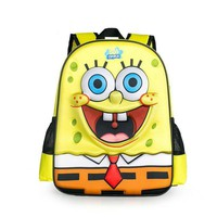 New Kids SpongeBob Squarepants Cartoon Children Backpack kids schoolbag student bookbag girls boys shoulder bag