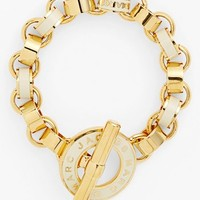 MARC BY MARC JACOBS 'Toggles & Turnlocks' Enamel Link Bracelet