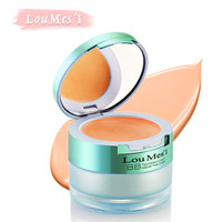 Loumesi concealer cream and pig cream two in 1 nude makeup faoundation cream  base makeup face primer