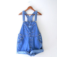Women Denim Overall Levi Overall Levis Overall Denim Shortall Denim Overall Shorts Denim Bib Overall 90s Overalls Blue Jean Overall Over All