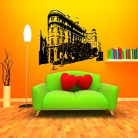 Barcelona Skyline City Sights History Old Picture Wall Sticker Decal 2584