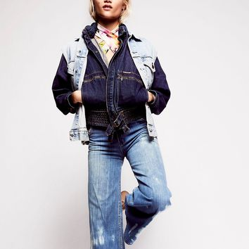 Free People Vintage 1970s Denim Jacket