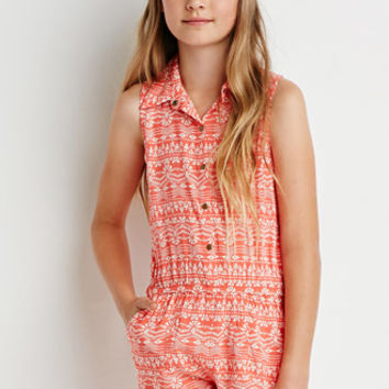 Tribal Print Romper (Kids)