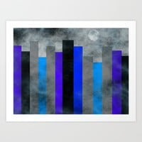 Fog In The City Art Print by Kathleen Sartoris