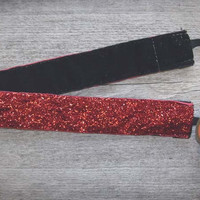 BANDED: Sparkle Headband - Red