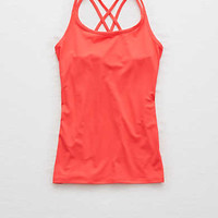 Aerie Strappy Tank , Light Neon Red