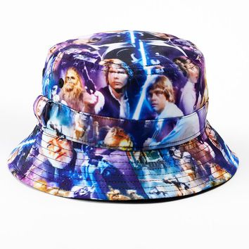 Star Wars Character Sublimated Bucket Hat - Boys, Size: One Size (Blue)