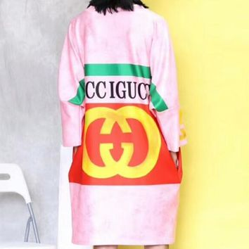 GUCCI 2018 show fashion tide fashion high quality dress F-AA-XDD