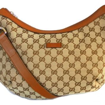 GUCCI women's shoulder bag in fabric and leather 353399 525040 beige