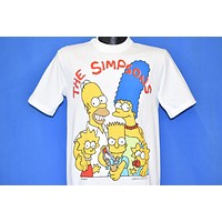 90s The SImpsons Family Sling Shot t-shirt Small