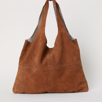 H&M Large Suede Shopper $99