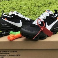 QIYIF replica OFF-WHITE Virgil Abloh x Nike Air Vapormax collaboration sneaker