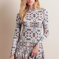 Wild Winds Printed Dress
